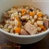 Navy Bean Soup - in the Crock Pot