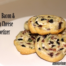 Simple bacon and cream cheese appetizer