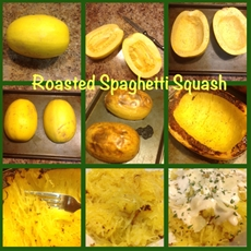 roasted spaghetti squash | country girl gourmet