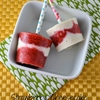 Homemade Strawberry Cheesecake Popsicles