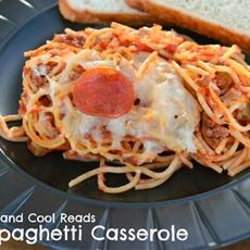 Pizza Spaghetti Casserole Recipe