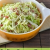 Pan Fried Cabbage with Pancetta