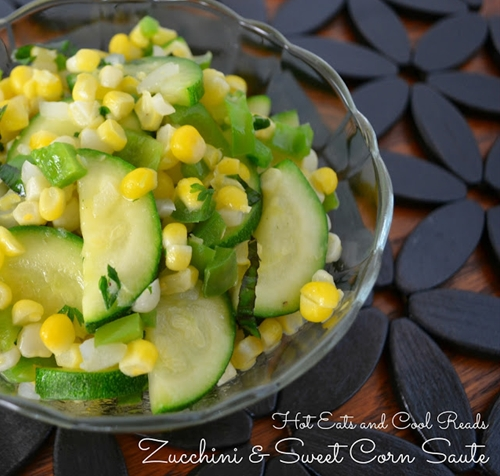 Zucchini and Sweet Corn Saute