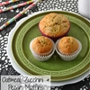 Oatmeal, Zucchini and Pecan Muffins Recipe