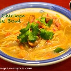 Ginger Chicken Noodle Bowl