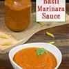 Classic Tomato Basil Sauce