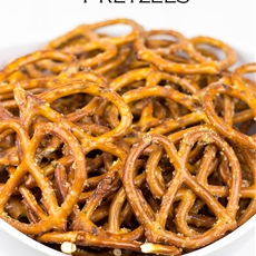 Zesty Ranch Pretzels