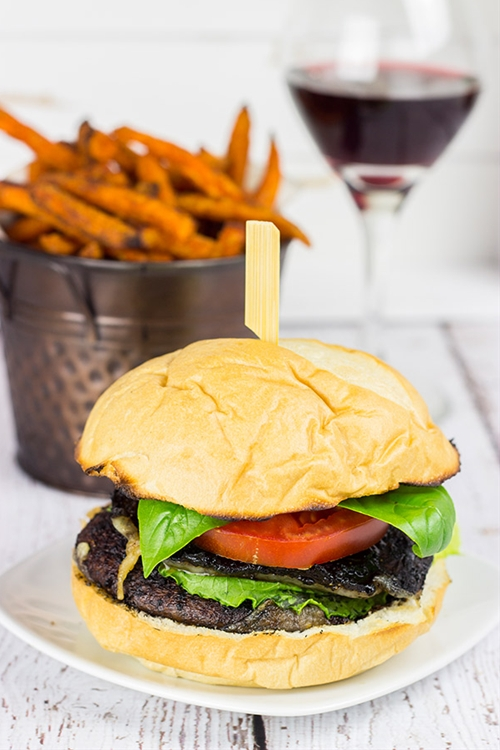 Red Wine Portobello Burgers