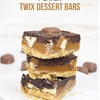4-Layer Twix Dessert Bars