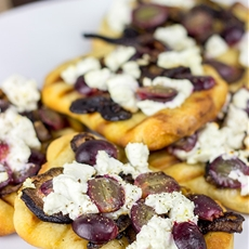 Grilled Goat Cheese Flatbread
