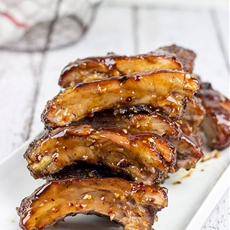 Sweet Chili Glazed Baby Back Ribs