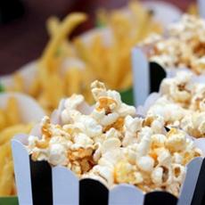 Easy Buffalo Popcorn