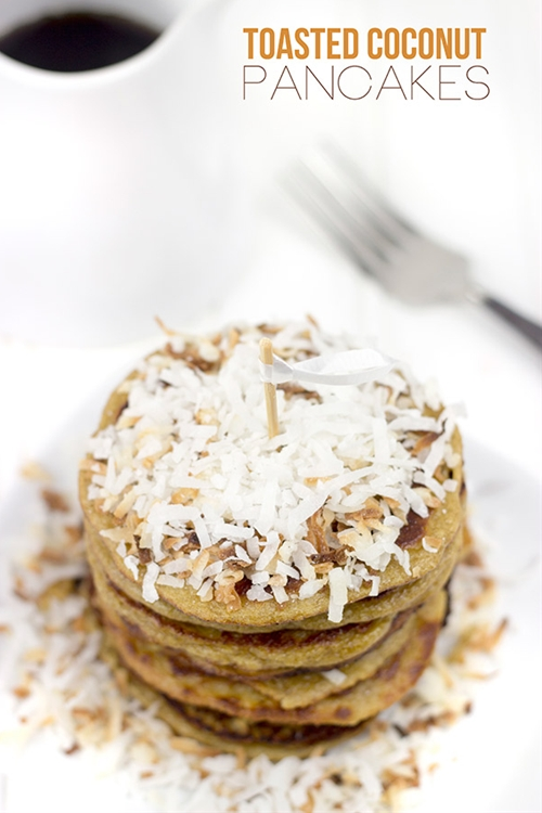 Toasted Coconut Pancakes