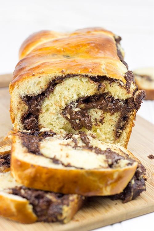 Chocolate Hazelnut Babka