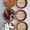 Rocky Road pudding in a jar