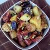 Bacon, garlic and parmesan potatoes