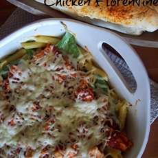 Three Cheese Chicken Florentine