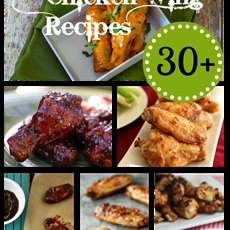 30+ Chicken Wing Recipes - Around My Family Table