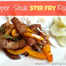 Easy Pepper Steak Stir Fry