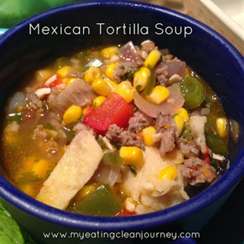 Mexican Tortilla Soup recipe | Chefthisup
