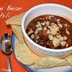 Three Bean Chili & Homemade Chili Seasoning