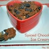 Spiced Chocolate Ice Cream