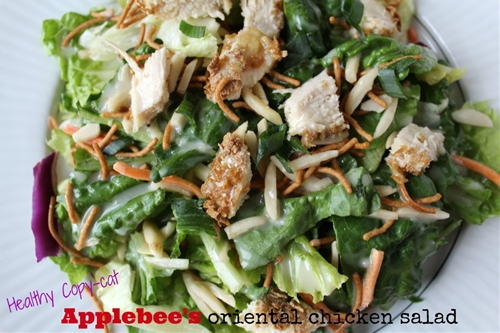 Healthy Copycat Applebee's Oriental Chicken Salad