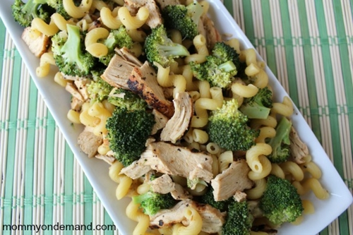 Lemon broccoli pasta with chicken