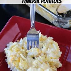 Classic funeral potatoes