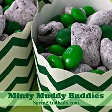 Minty Muddy Buddies