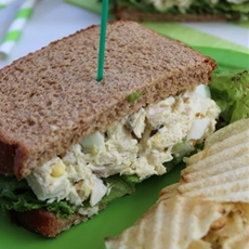 Chick-Fil-A Copycat - Chicken Salad Sandwich