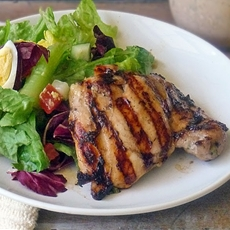 Life Tastes Good: Easy Grilled Chicken Thighs