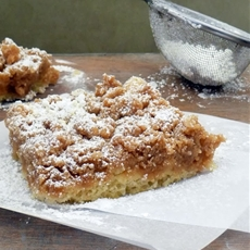 Life Tastes Good: New York Crumb Cake
