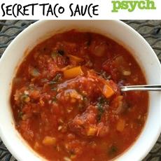 Macho Taco's Secret Taco Sauce