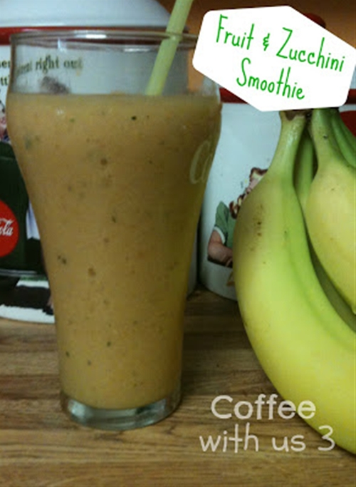 Fruit & Zucchini Smoothie