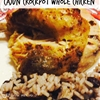 Crock Pot Cajun Whole Chicken