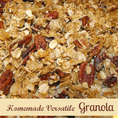 Easy and Versatile Homemade Granola