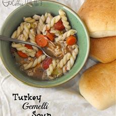 Turkey Gemelli Soup