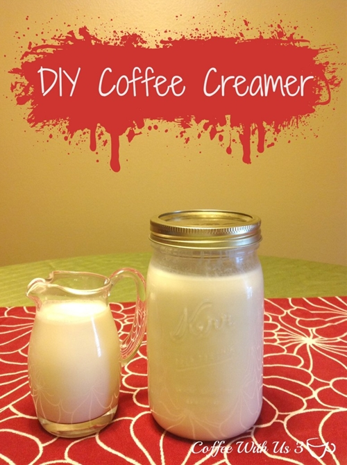 DIY Coffee Creamer
