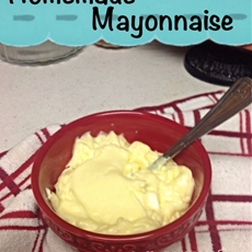 Homemade Mayonnaise & Fry Sauce