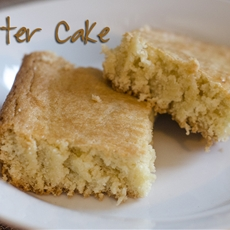 A Delicious Cake Without Frosting – BUTTER Cake
