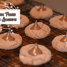 Chocolate Peanut Butter Blossoms Recipe
