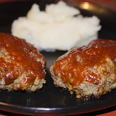 Cheesy Mini Meatloaves Recipe