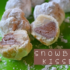 Snowball Kisses Cookies