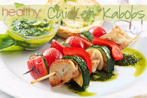 Healthy Chicken Kabobs Recipe