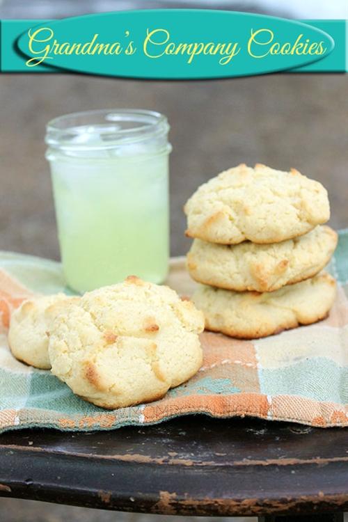 Grandma's company cookies recipe