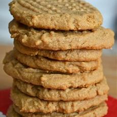 Super Easy Three Ingredient Peanut Butter Cookies