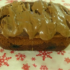 gluten free double chocolate peanut butter bread