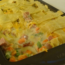 Turkey and vegetable potpie (a year of southern cooking)