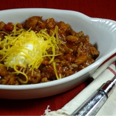 3 ingredient crock pot chili